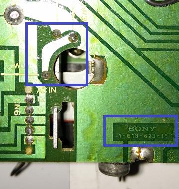 PCB in cui non è previsto l'uso dell'ICP-N15