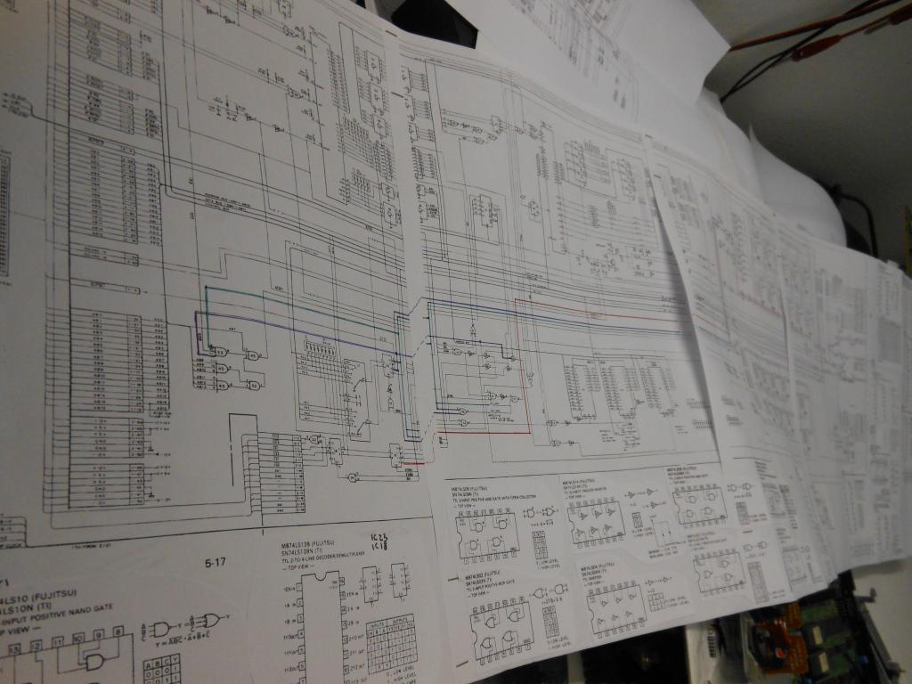 Altra prospettiva del collage dello schema